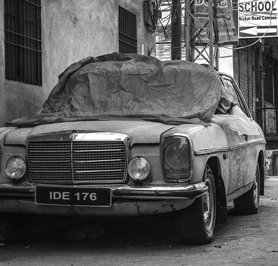 Vintage walled city Lahore