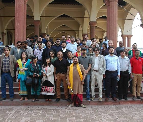 UNO tour of Lahore