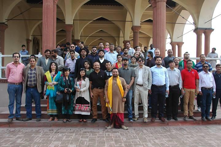 UNO tour of Lahore