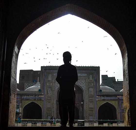 Boy in Wazir Khan