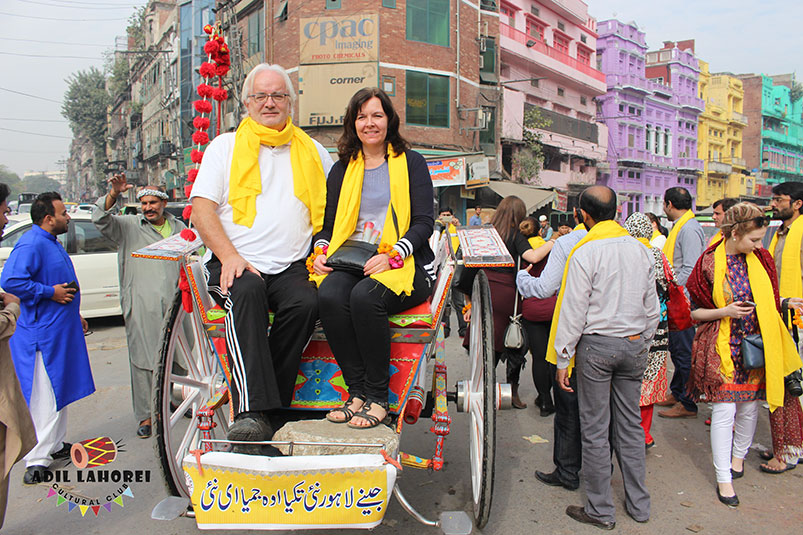 Foreigners visiting Lahore
