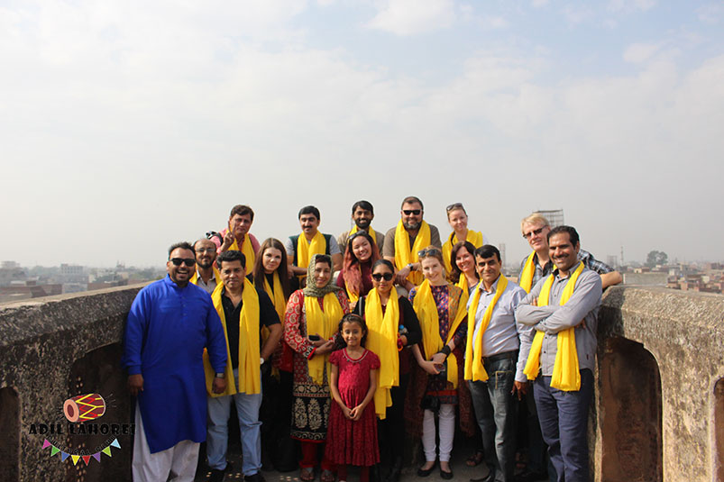 Foreigners visit Lahore| Adil lahorei Cultural Club