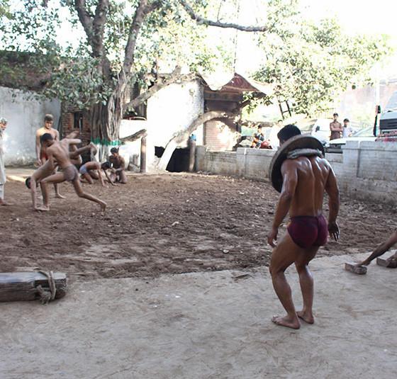 Mud Wrestling Lahore