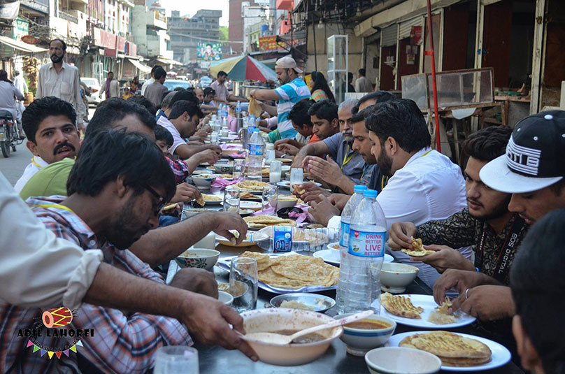 Lahore traditional food