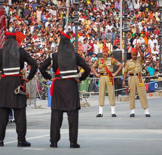 Wagah border Pakistan